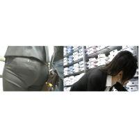 【再販】ショップ店員さんパンツライン動画Vol.86-1