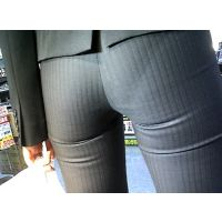 【再販】渾身のパンツライン動画SP-29-4『経済○業省の女』 (高画質カメラ仕様)
