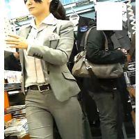 ショップ店員さんパンツライン動画Vol.40(高画質カメラ使用)
