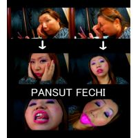 ド素人ケバイ四十路のブスの唇・舌・お化粧顔パート1