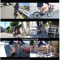 四十路のミニスカパンスト自転車 part14 パート1