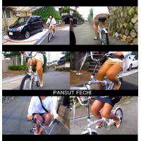 四十路のミニスカパンスト自転車 part5,6 セット