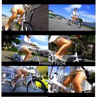 四十路のミニスカパンスト自転車 part7