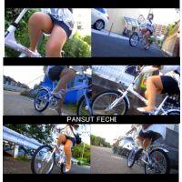 四十路のミニスカパンスト自転車 part8