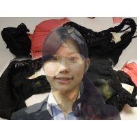 【紳士服店員】友達と同棲している彼女が仕事中に履いて汚したパンティー【おまけ動画付き】