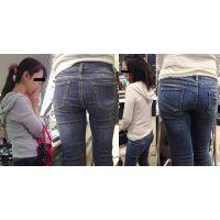 【主婦ジーンズ】奥さんの汗とニオイが染み込んだジーンズ