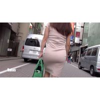 【FHD高画質】美魔女 タイトワンピース