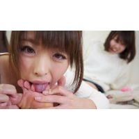 LSN021 今日初めて女の子同士で足裏舐め合い 【奈々→舞編】