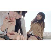 【mp4】足裏の性感帯を探しながら、女の子同士のマジ足裏舐め合い  もえ⇒りお