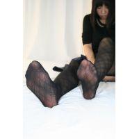 【写真】あしうら写真集 まり 私服ストッキング〜裸足,下着〜足コキ