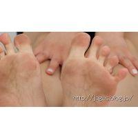 【mp4】JAGA's あしうらイメージ動画 -Dirty soles- 梨奈