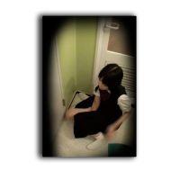 c妹観察 [顔出動画] 部活後の制服 1日穿いたシミパンはクッキリ びちゃびちゃオナニー