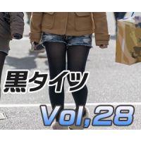 黒タイツ Vol,28