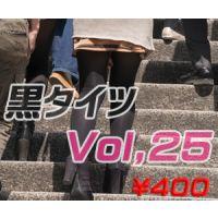 黒タイツ Vol,25