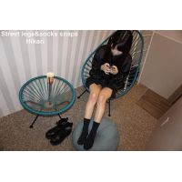 Street legs&socks snaps photos + movie Hikari
