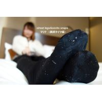 street legs&socks snaps写真集&動画 マリナ 〜黒柄タイツ編〜