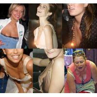 海外セレブの胸チラ画像5