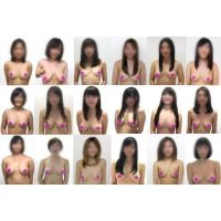 【HD】22人【高○生】女体フェチ診断【新春】