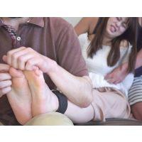 選抜!!くすぐったすぎる足裏  ≪素足とストッキングの足裏くすぐり≫ ののちゃん 編