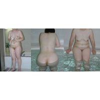 [202]ぽっちゃり奥さんの入浴姿[43歳]