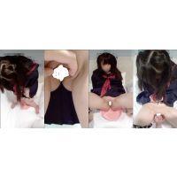 J●美少女の放尿とくぱぁと手マン(動画)