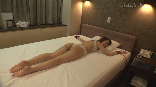 こちょこちょ族 イマドキロリ系美脚足裏敏感美少女 はるか 22歳 セクシー水着編 その2