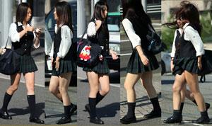 ムチムチ!制服の女性達⑤