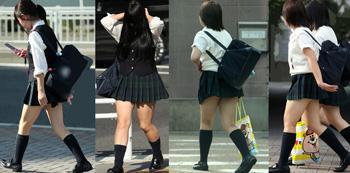 ムチムチ!制服の女性達①