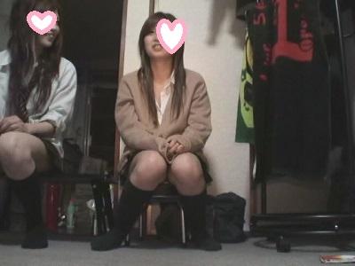 現役JOのパンチラ撮影会(ゆう&あや完全版)