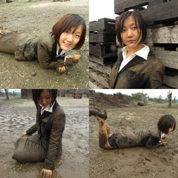 Muddy enlistment examination photo sets ( total 947 images)[DM8
