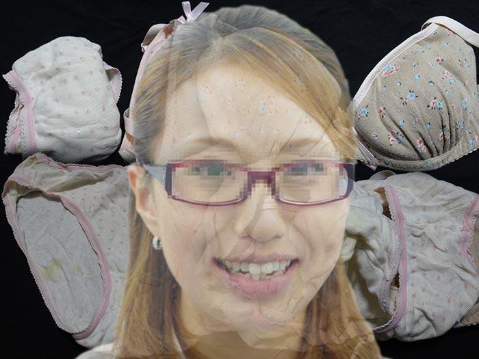【薬剤師】友達の奥さんが仕事中に履いて汚したパンティー【おまけ動画付き】