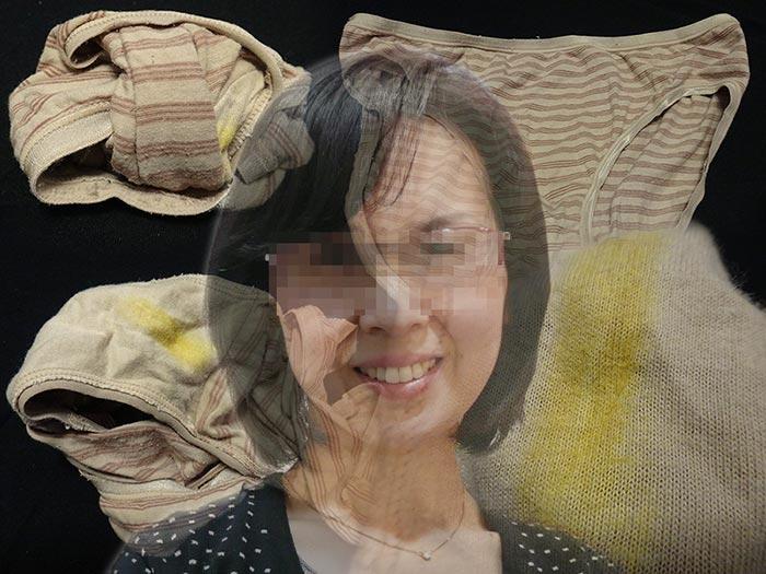 【フラワーアレンジメント講師】上司の奥様が旅行先で履いて汚したパンティー【おまけ動画付き】