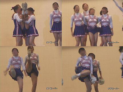 女子大生チアリーダー 演技 Vol.18【高画質aviファイル版】