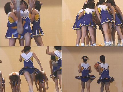 女子大生チアリーダー 演技 Vol.17【高画質aviファイル版】