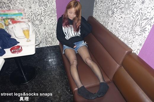 street legs&socks snaps写真集&動画 真理